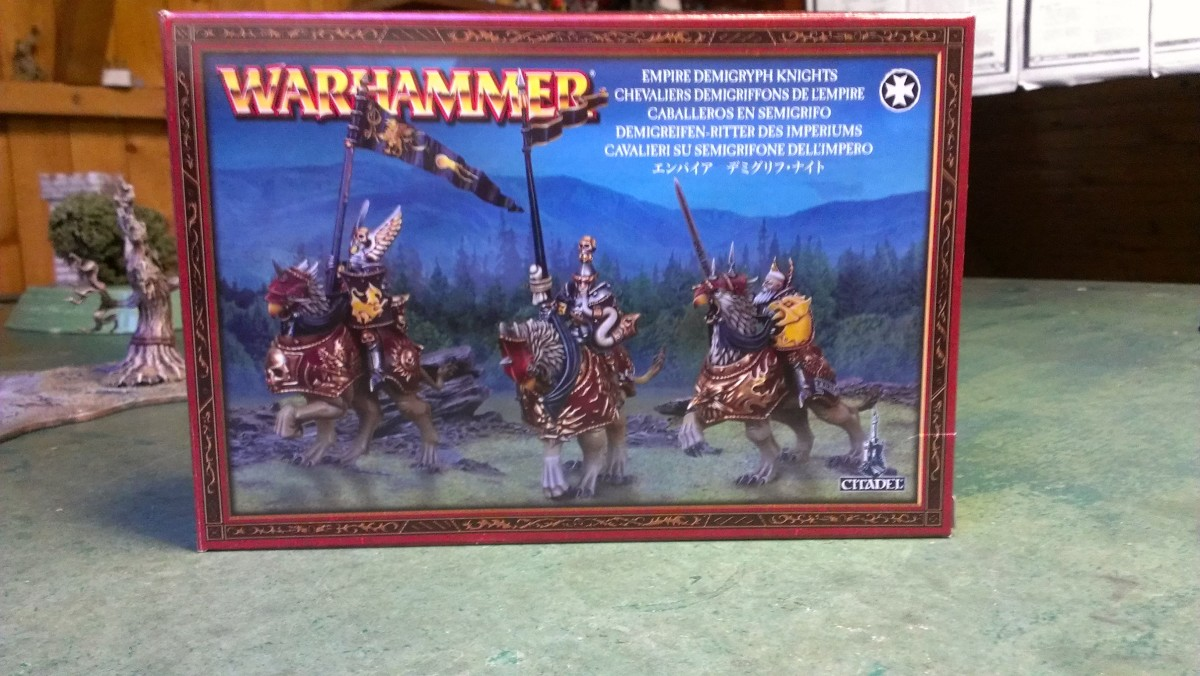 Demigryph knights warhammer 8th edition empire overview