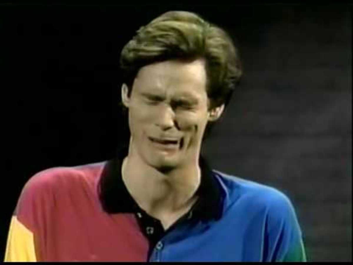 Jim Carrey, shown here when someone told him that he would go on to star in The Number 23