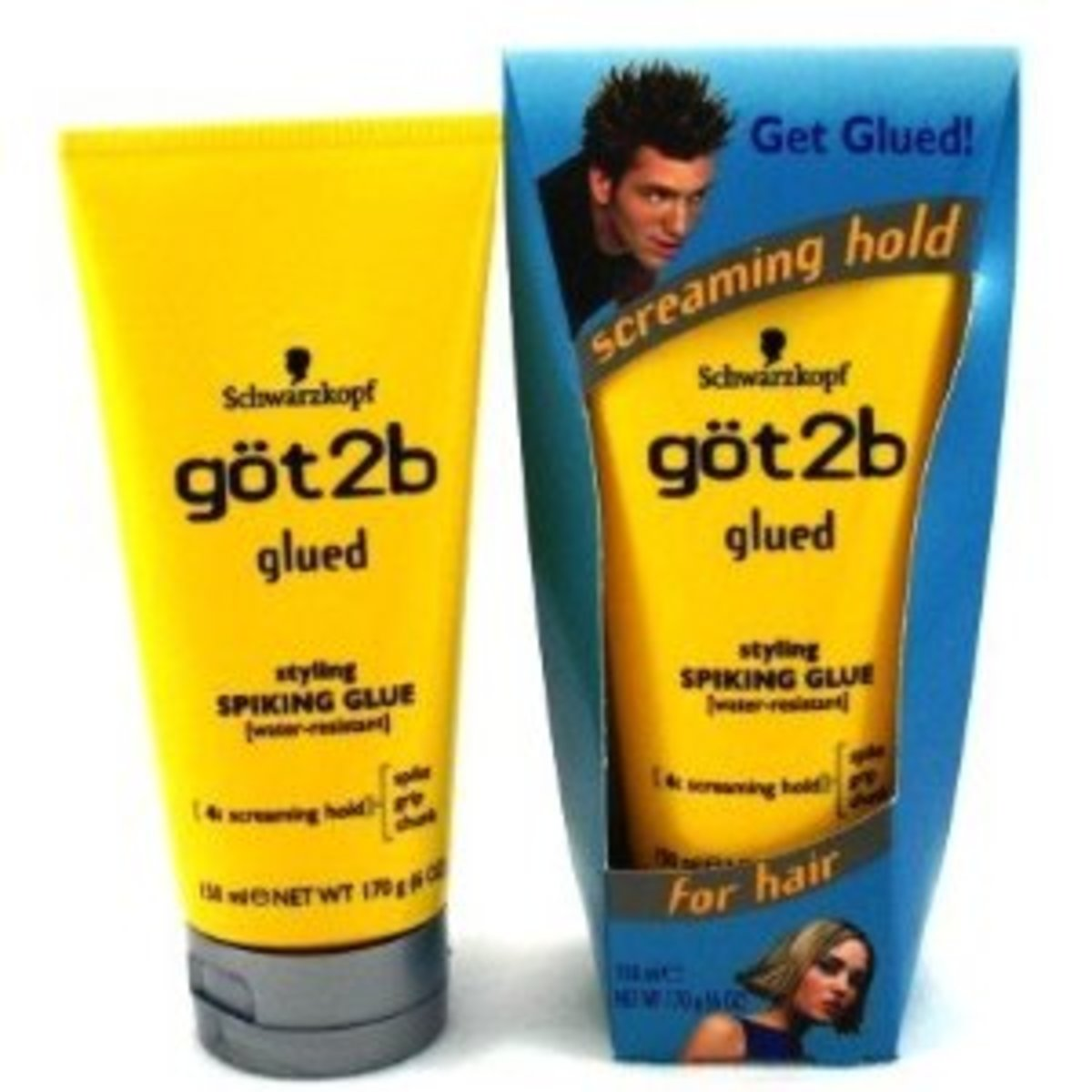 Hair Product Review (Got2b glued)