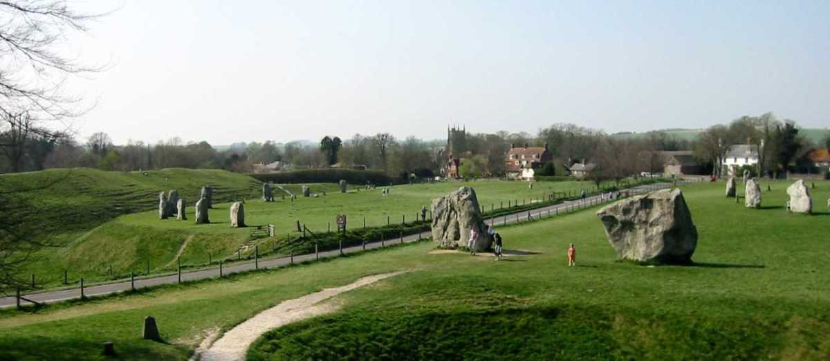 Stone Circles in Avebury, England