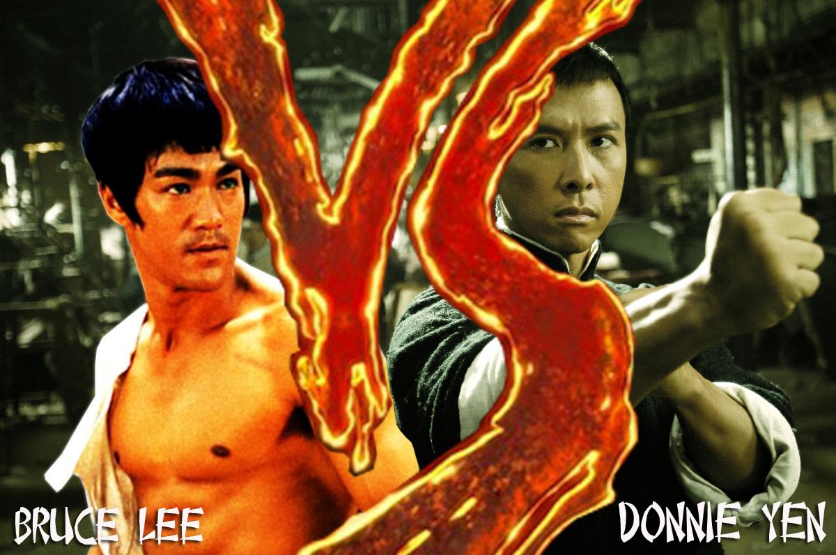 Bruce Lee Vs Donnie Yen