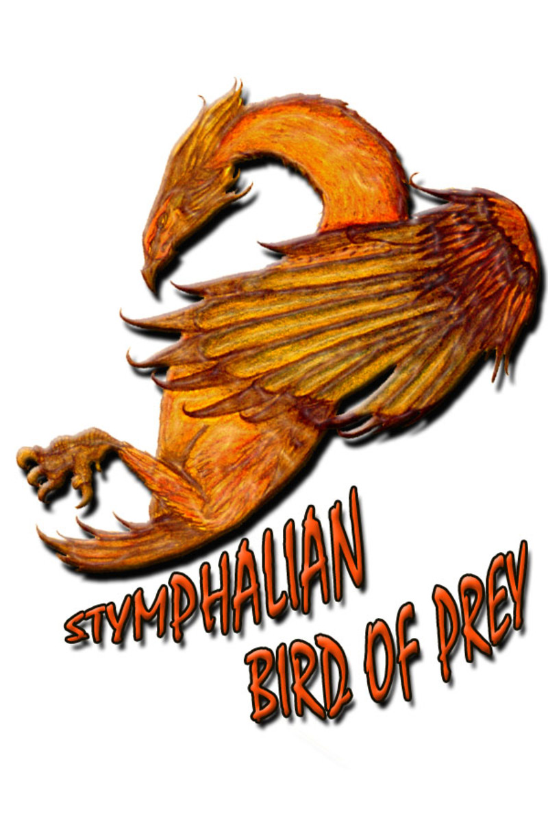 Hercules was charged with slaying the Stymphalian Birds.