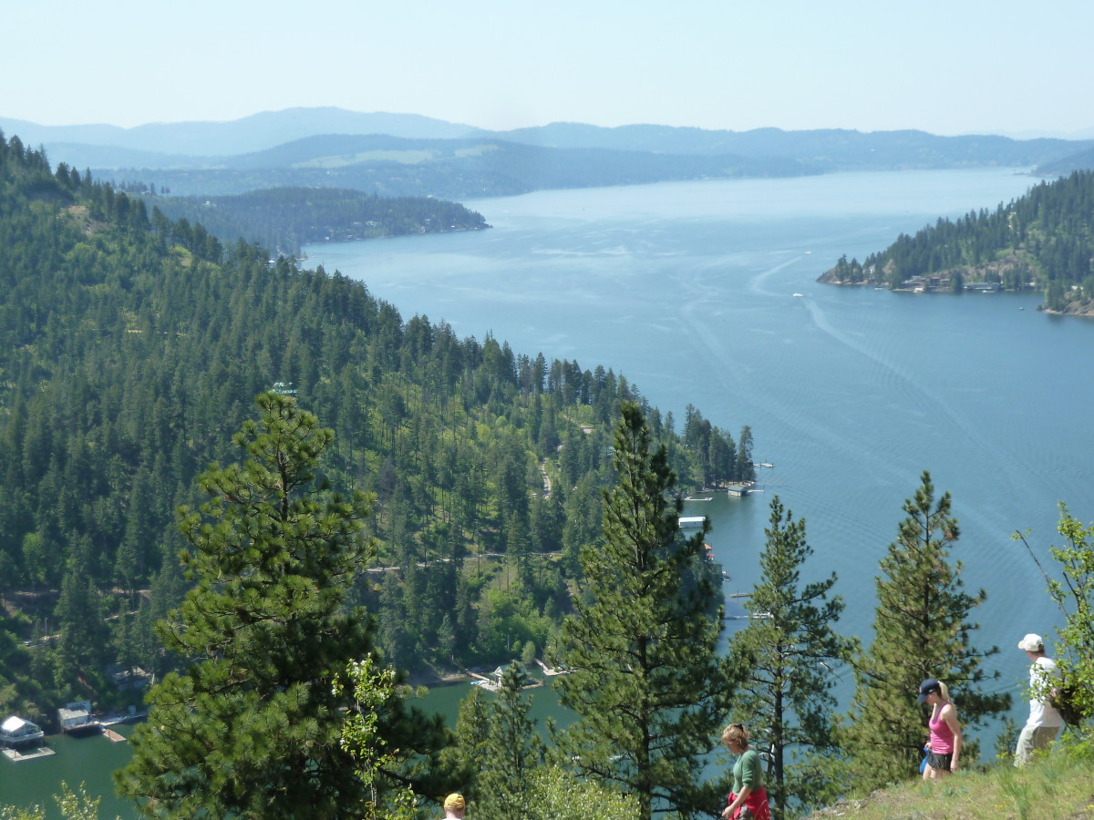Hiking Mineral Ridge in Coeur d'Alene, Idaho