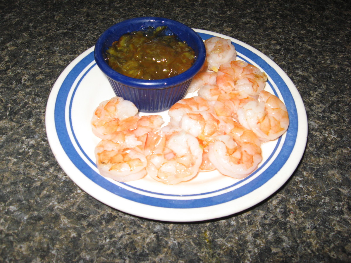Make low carb sauces to go with your shrimp recipes.
