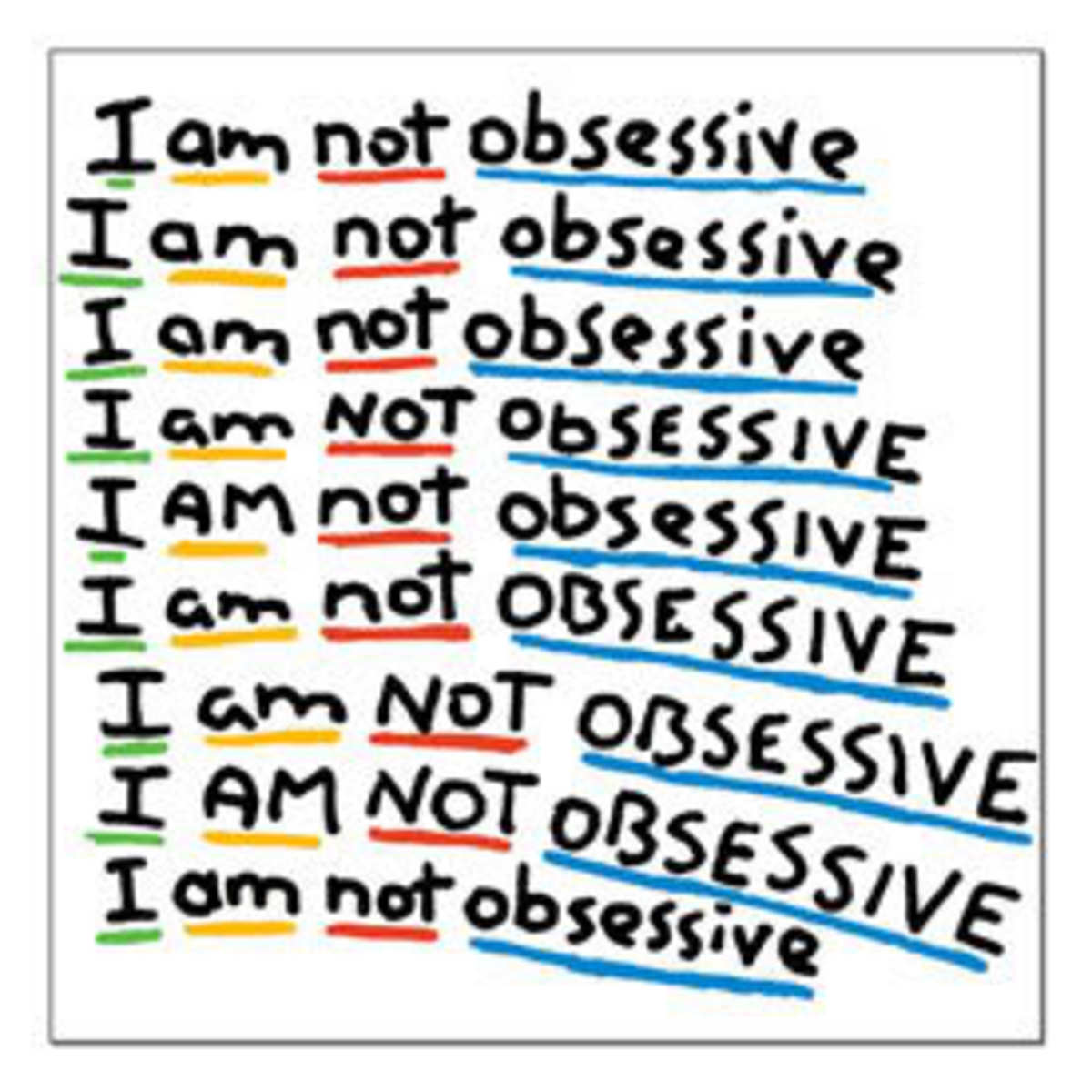 Am I Obsessive? Take the Quiz!
