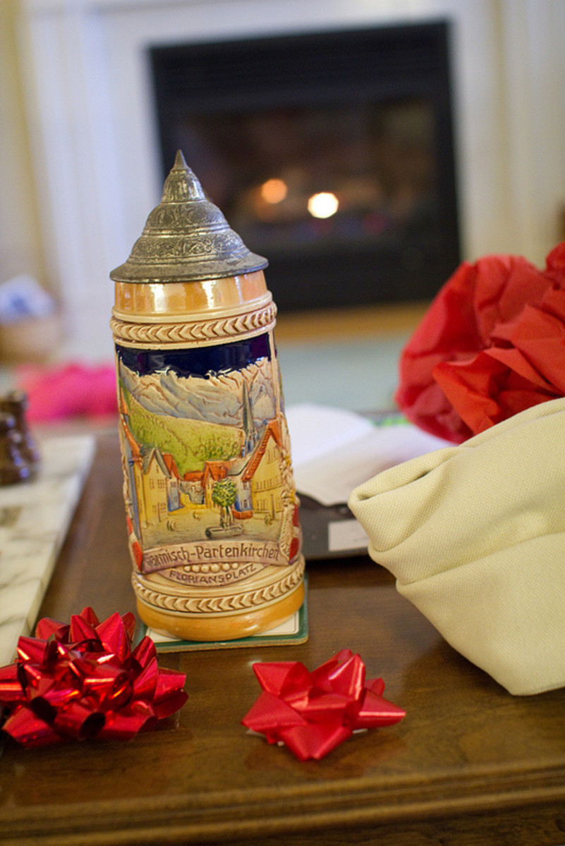 What is the Purpose of a German Beer Stein?