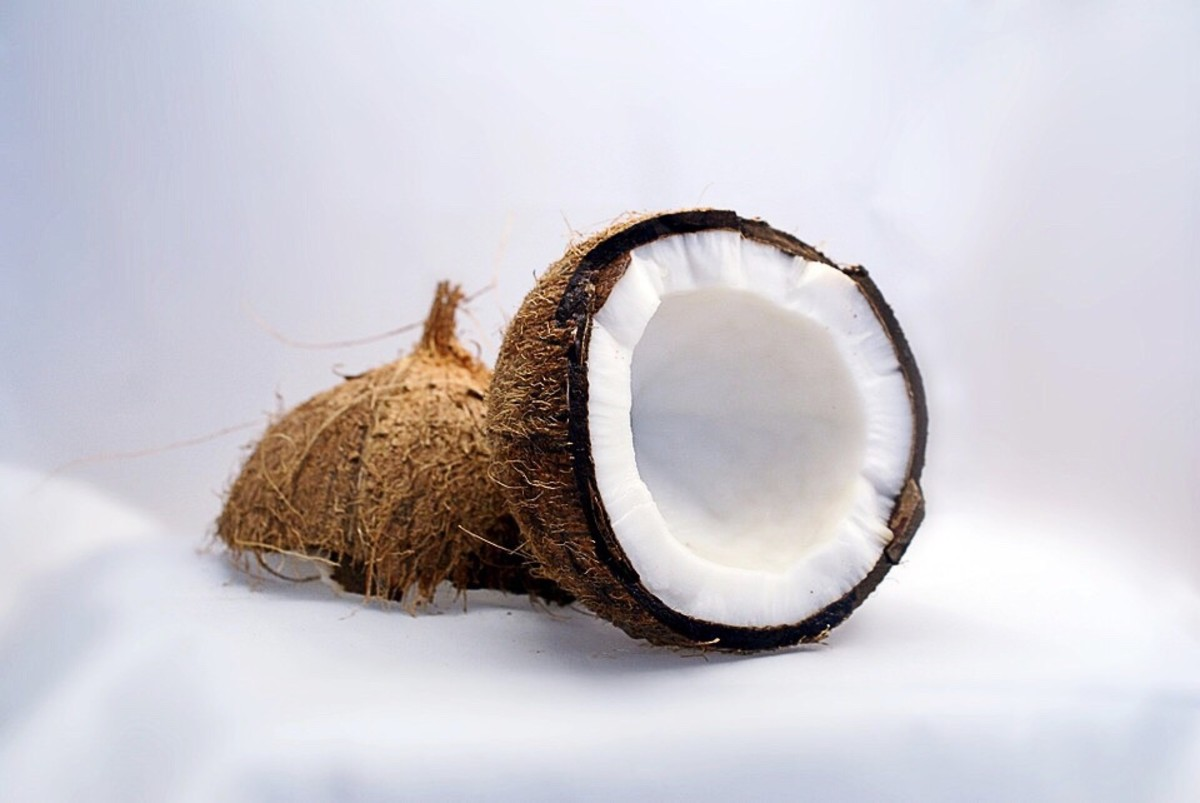 Coconut is a delicious addition to recipes.