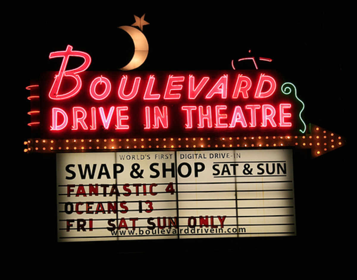 """World's First Digital Drive-In"" - Kansas City MO"