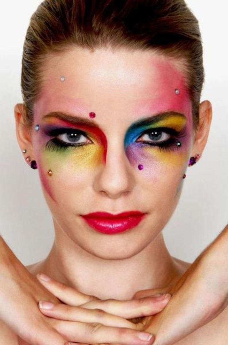 Rainbow Makeup Design Tips and Tutorials