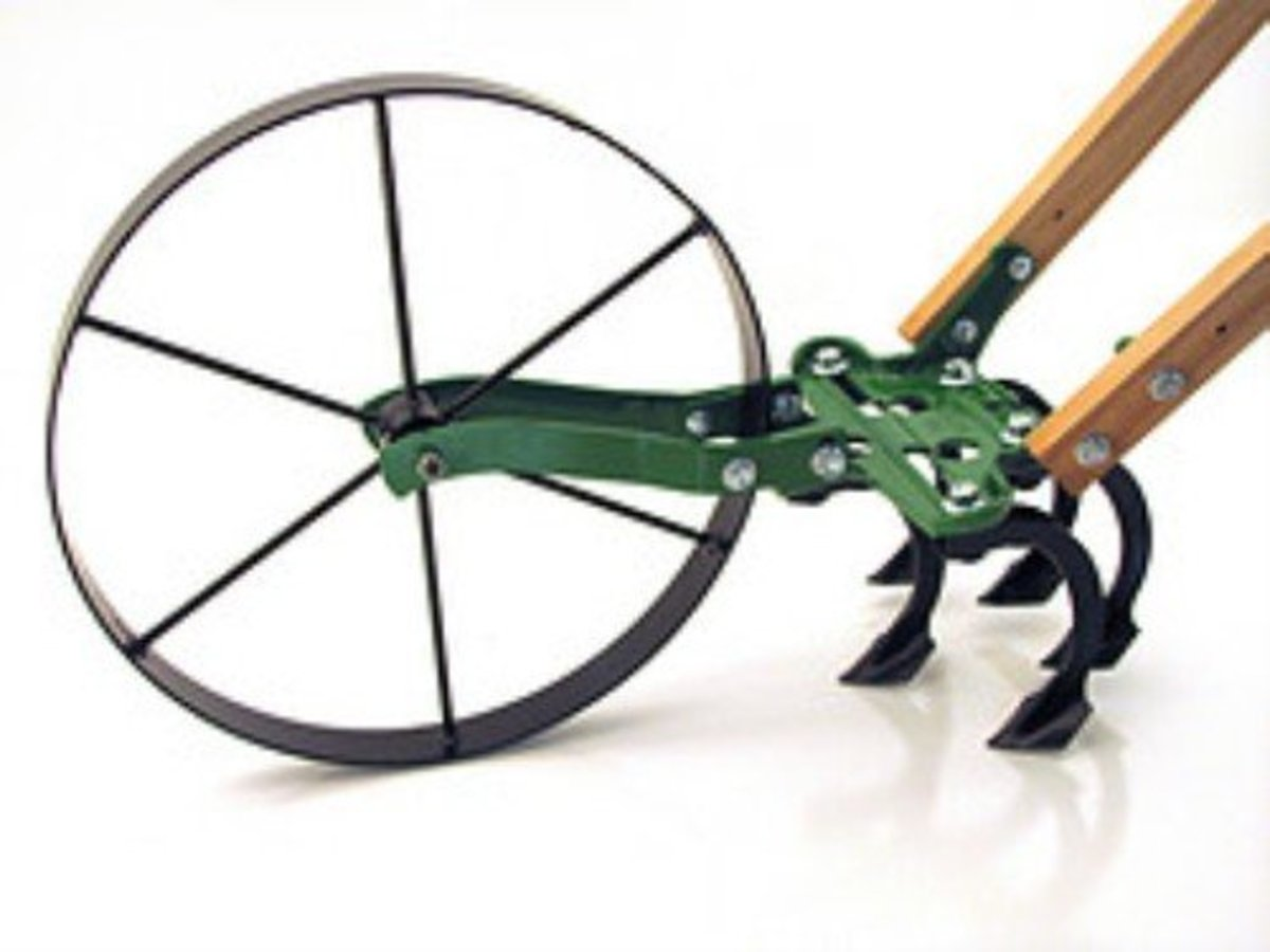 "Wheel Hoe ""Planet Junior"" Reproduction Cultivator"