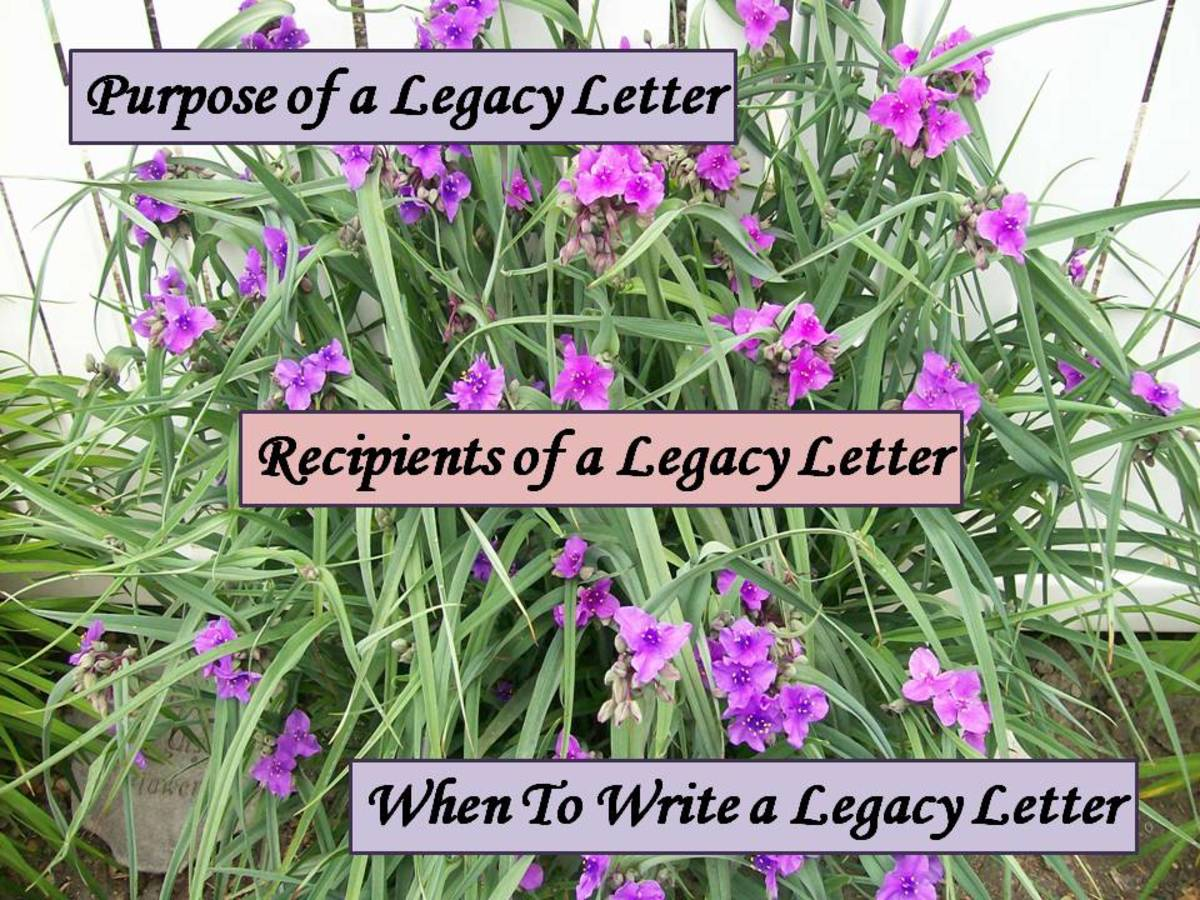 How To Write a Personal Legacy Letter (Ethical Will)