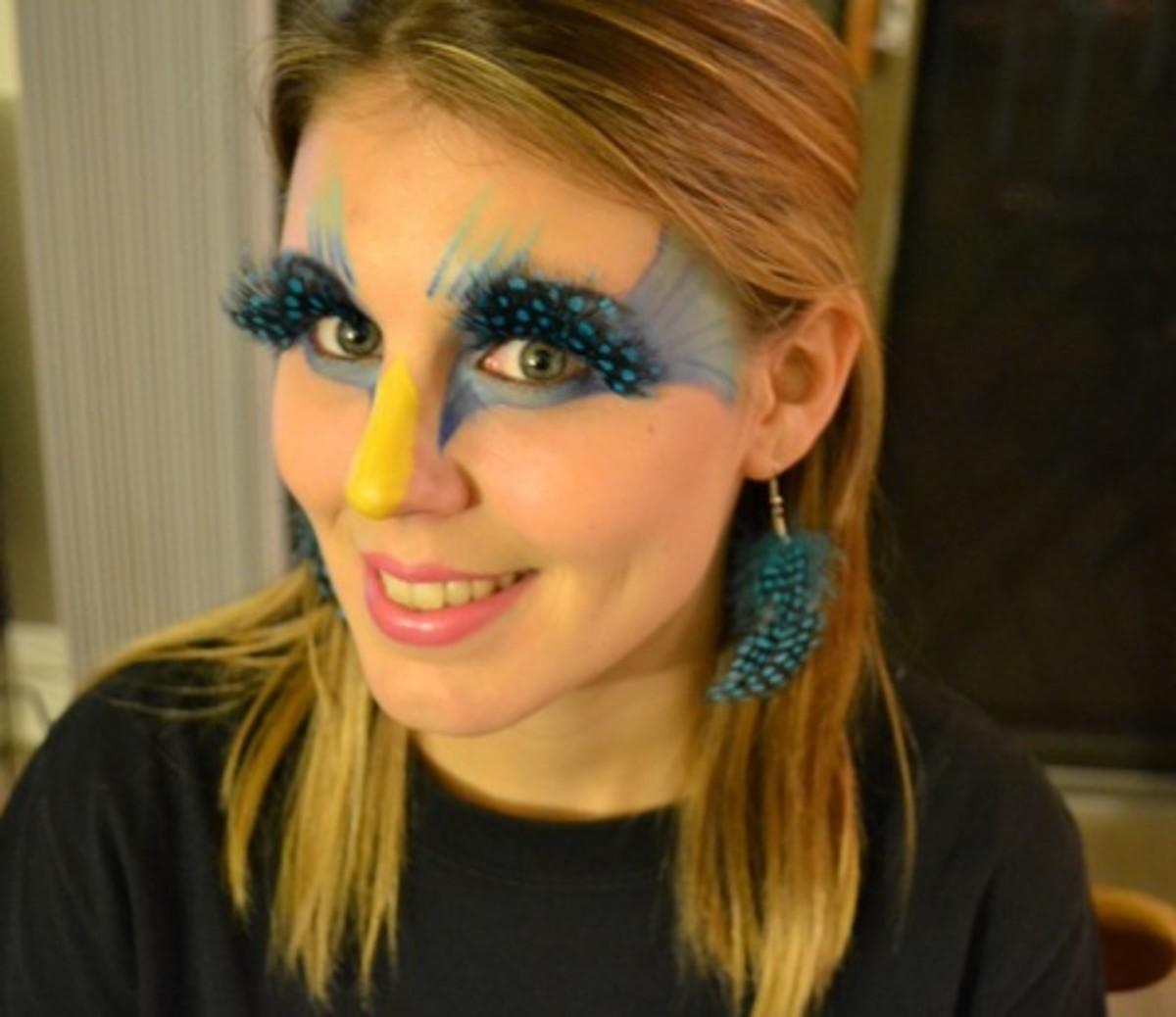 Amazing Bird Makeup Tips and Tutorials   HubPages