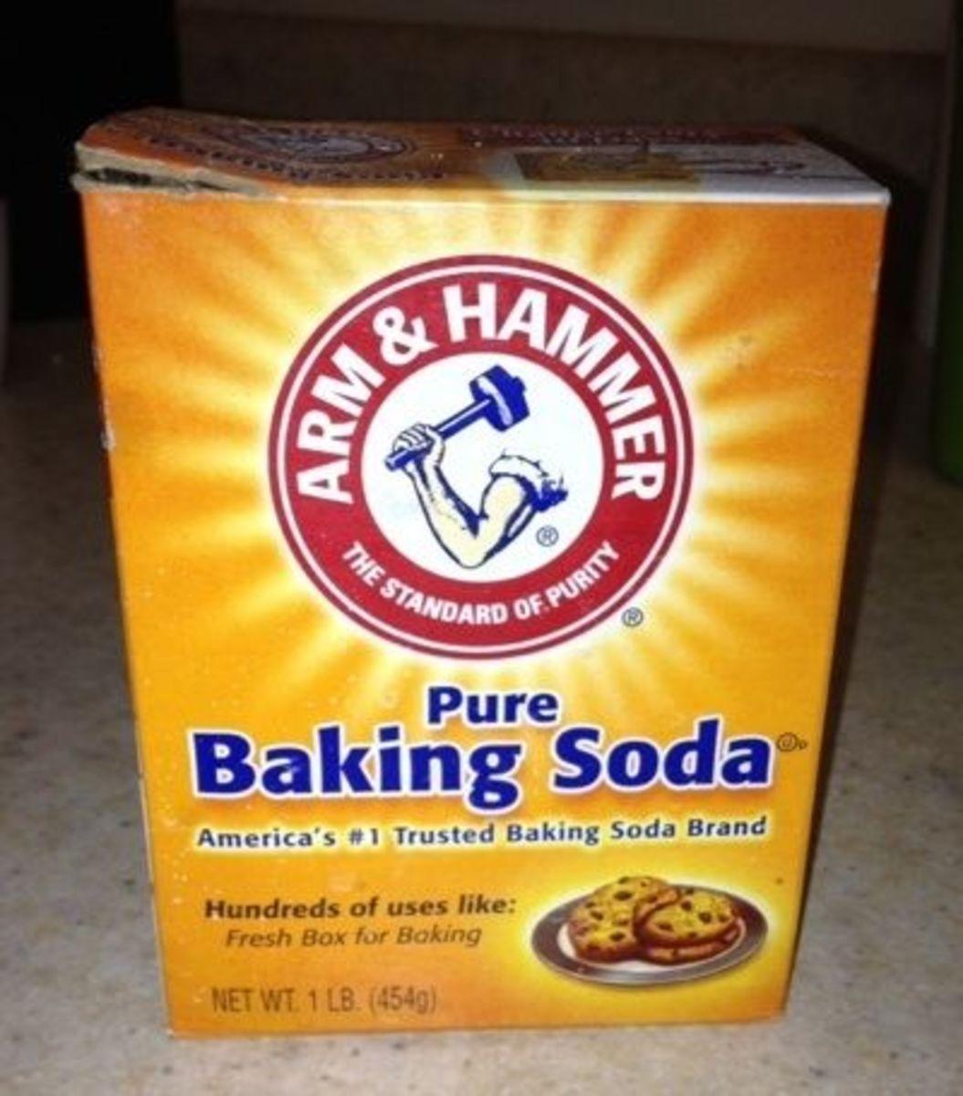 Arm and Hammer Baking Soda from my Fridge