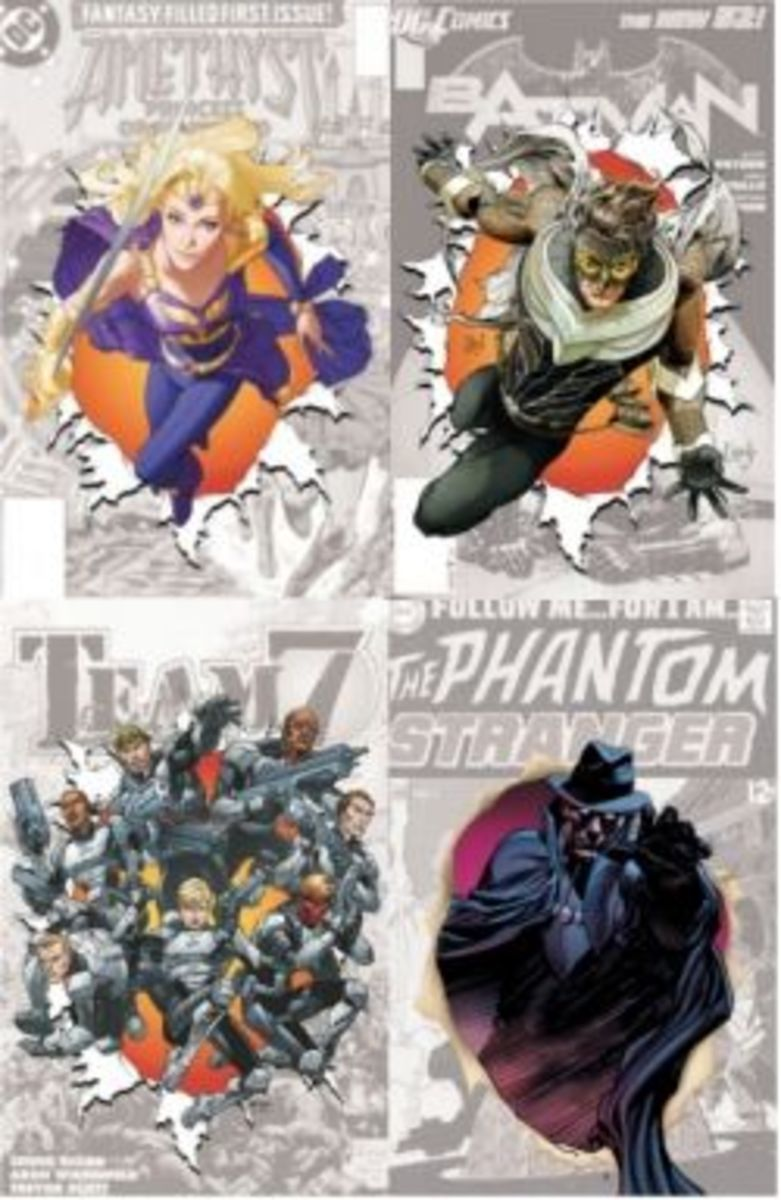 """The 4 New DC 52 """"0"""" Titles for September 2012"""