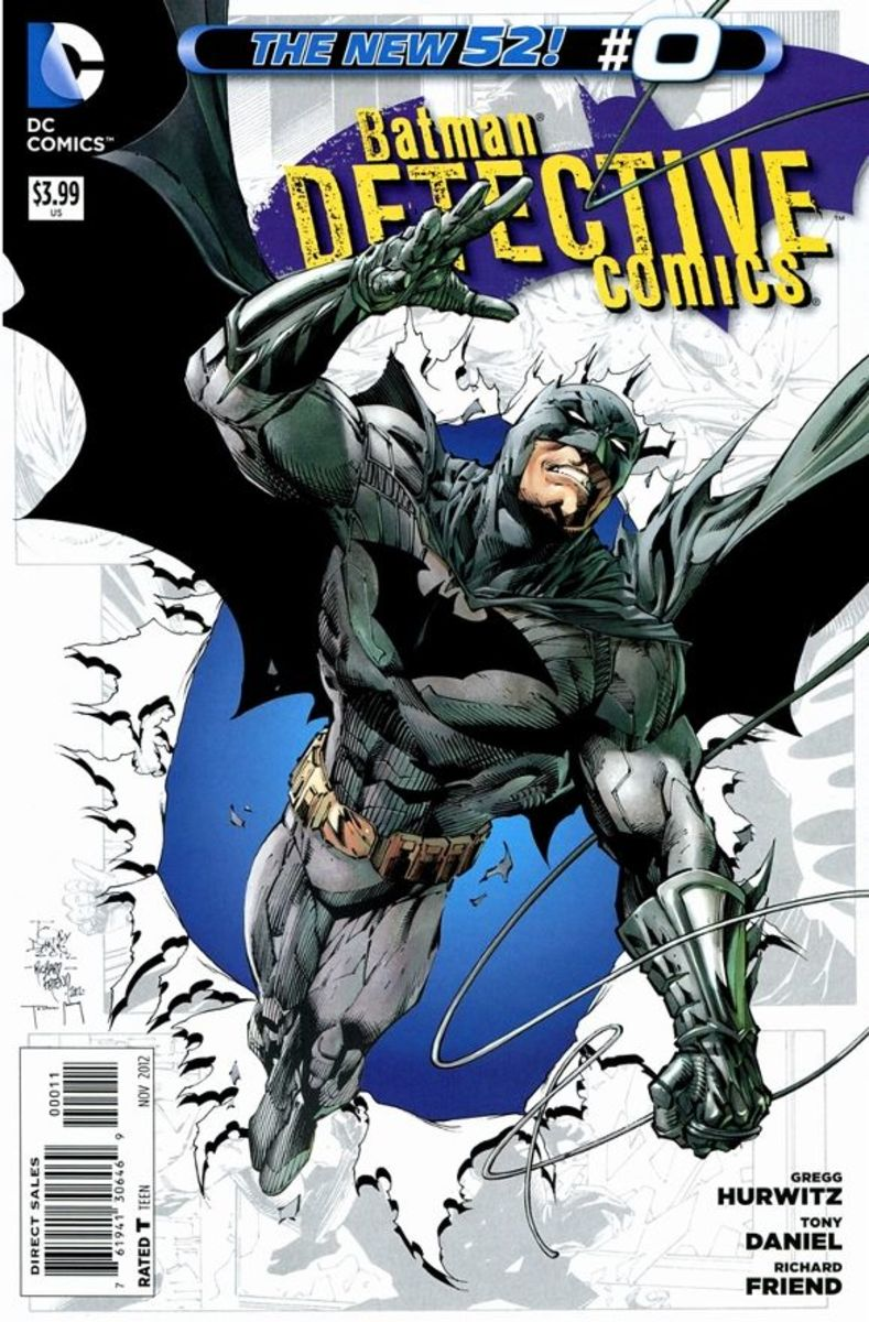 Detective Comics #0In the early travels of Bruce Wayne, he finds the legendary Shihan Matsuda and studies his ancient forms of meditation and fighting. Warned to isolate his feelings, the young man learns a final lesson as betrayal sets at every lev