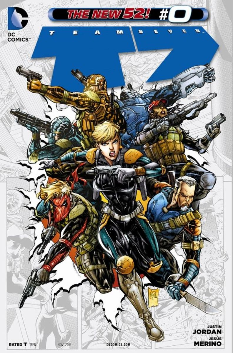 Team 7 #0Led by Dinah Drake and Kurt Lance, the appearance of superhumans has led to a recruitment of Cole Cash, Amanda Waller, Wilson Slade, Alex Fairchild, James Bronson, Summer Ramos, and Dean Higgins into the group that will form Team 7.