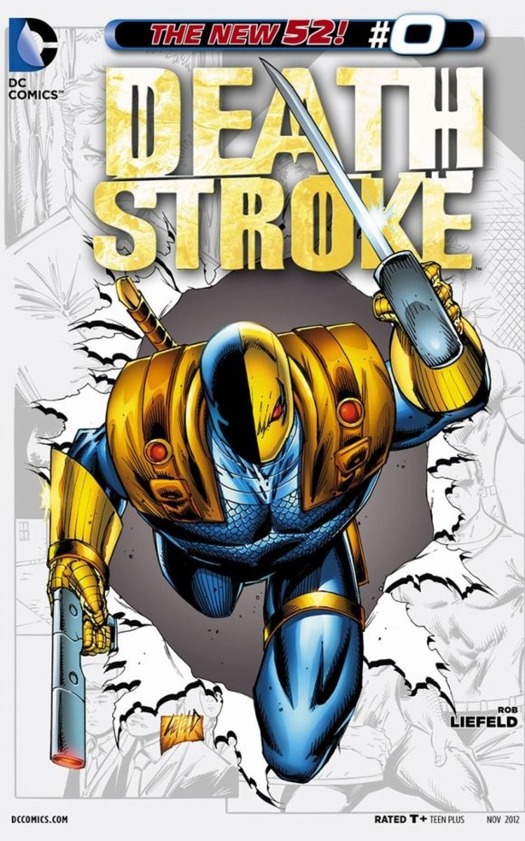 Deathstroke #0Slade Wilson's story begins under the training of Team 7 and Captain Kane, but grows into a family struggle as Joseph and Grant come to their own. The background story of Deathstroke.