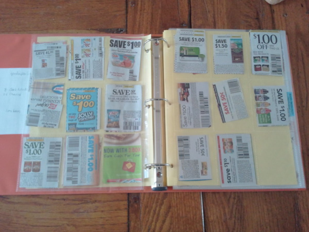 Organizing your Coupons helps you Save More Money