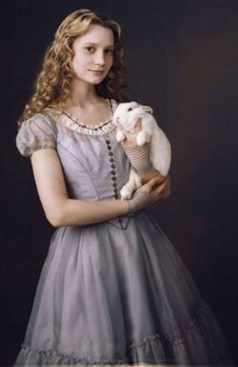 Mia Wasikowka as Alice from Tim Burton's Alice in Wonderland