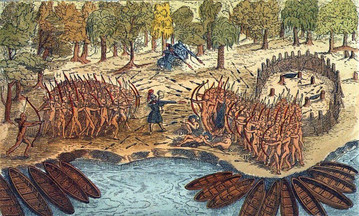 The Iroquois at war