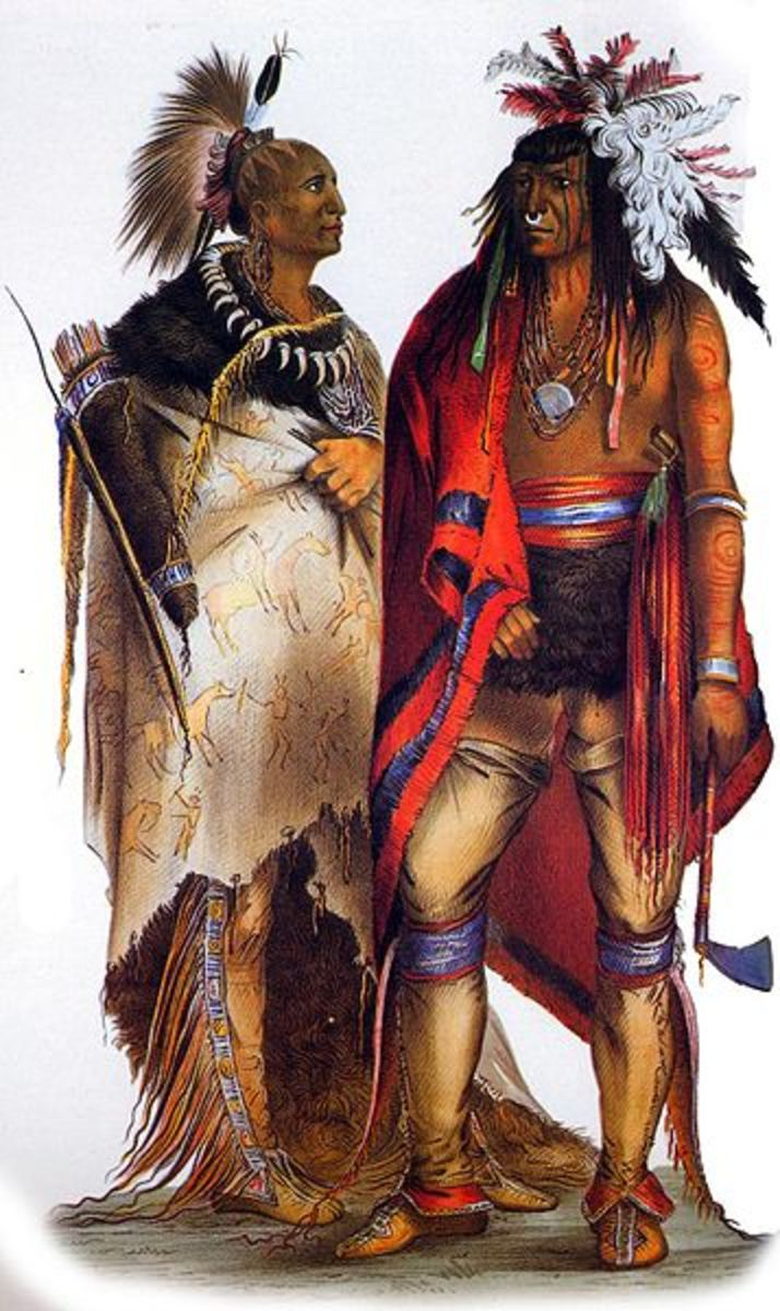 The Iroquois Indians - a short introduction of the 'People of the Longhouse'