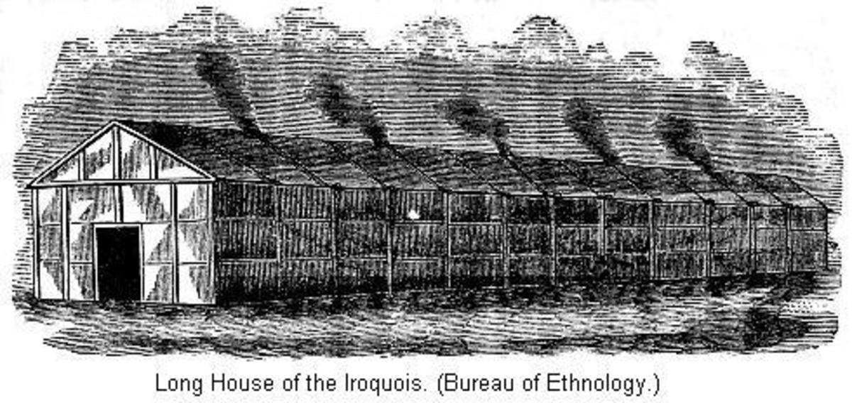 A typical longhouse