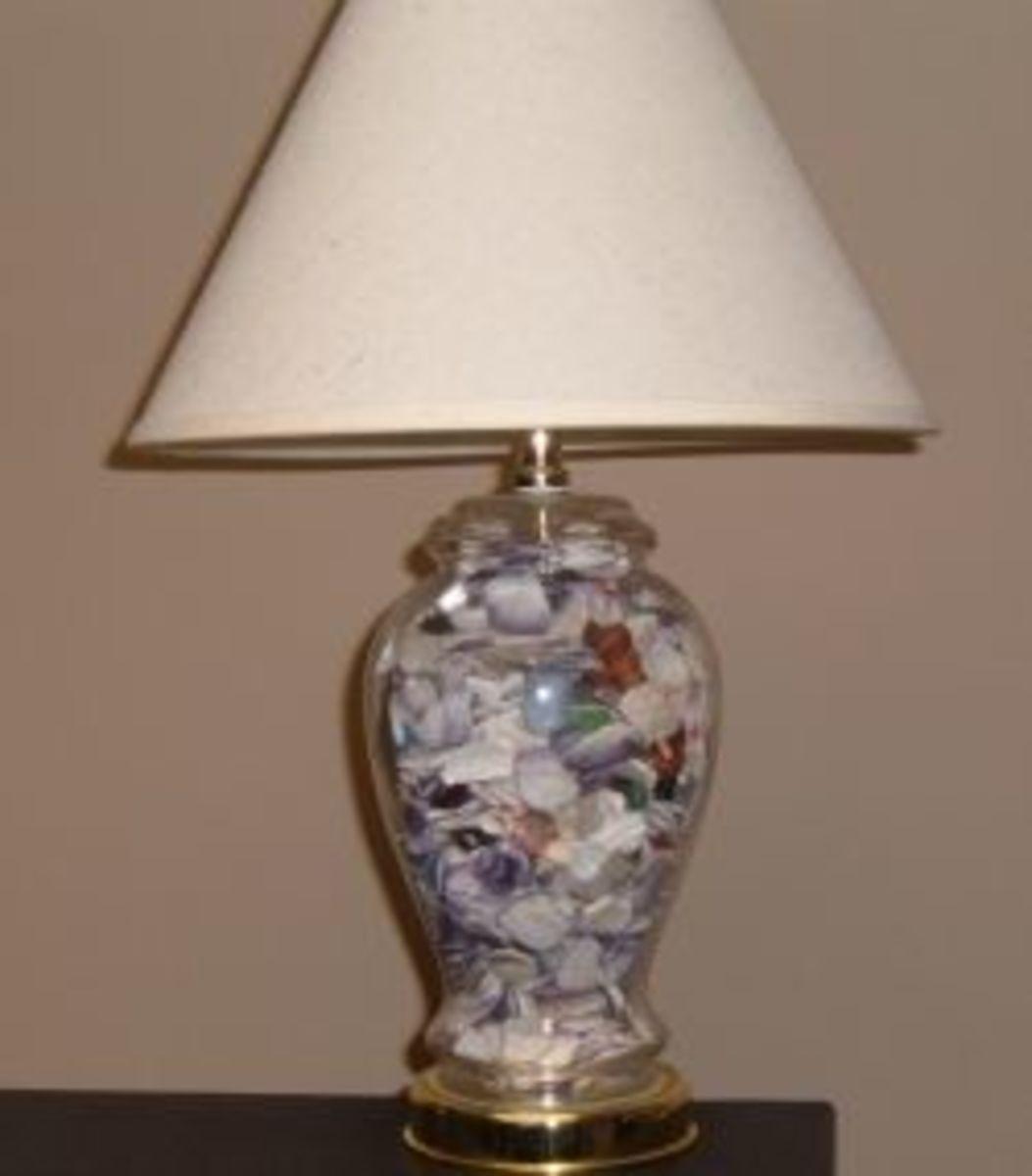 Wampum Lamp