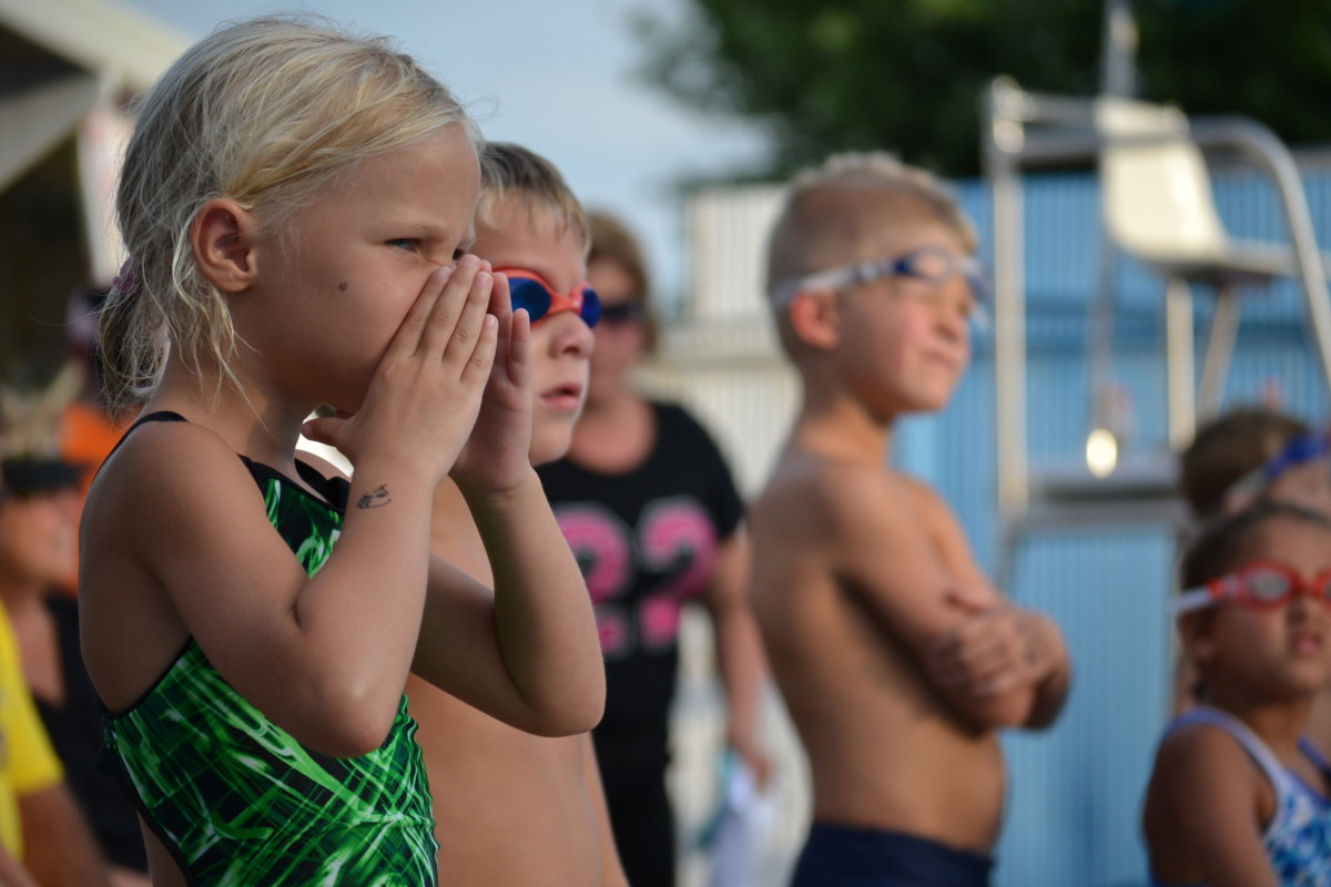 While you compete in individual events, all swimmers are part of a team.