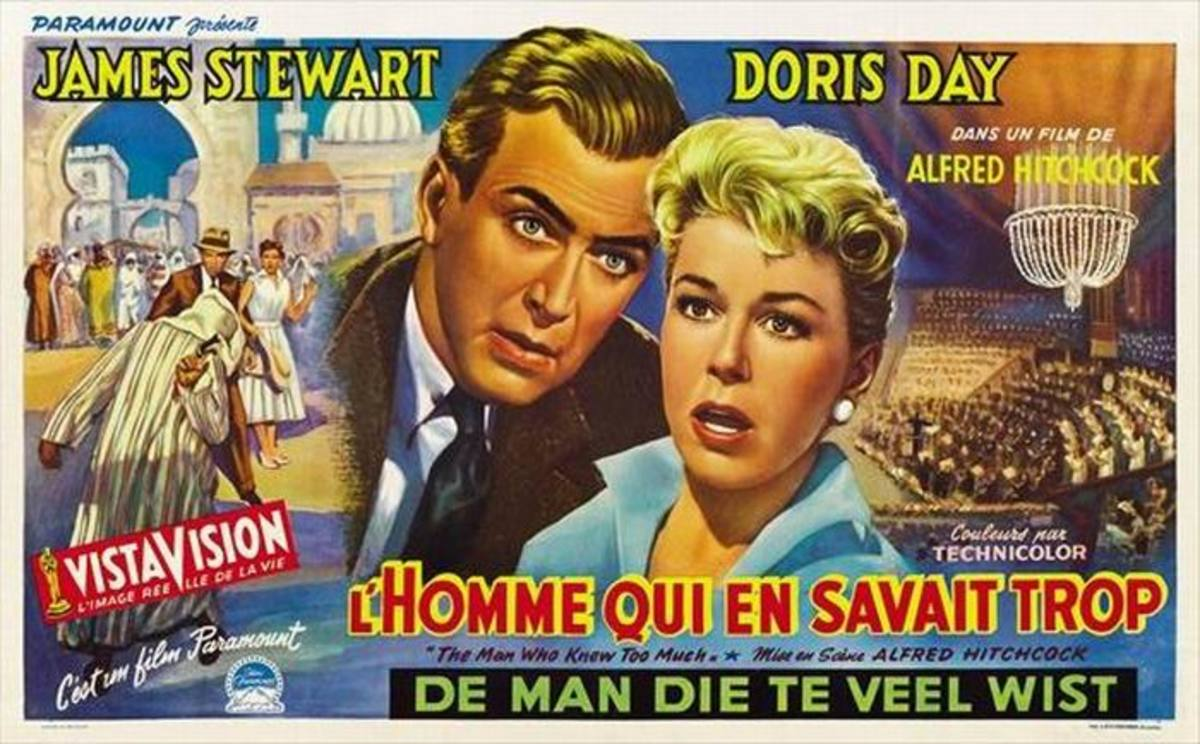 The Man Who Knew Too Much 1956 Belgian poster