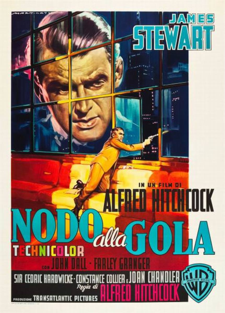 Rope (1948) Italian poster