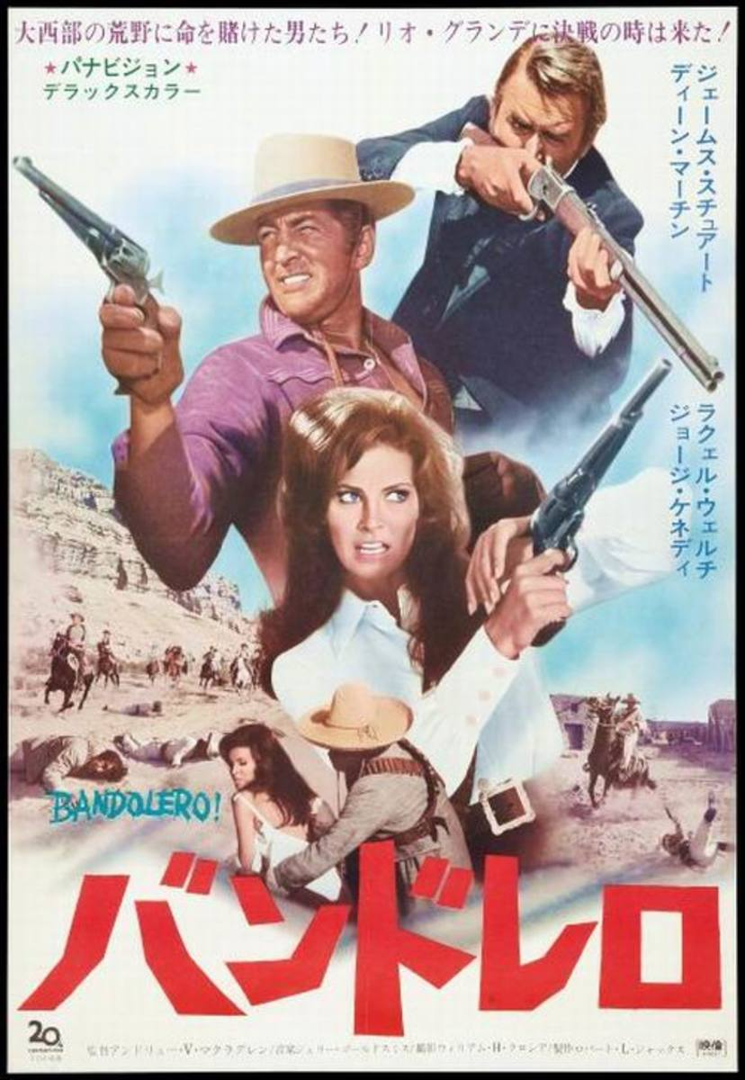 Bandolero (1968) Japanese poster