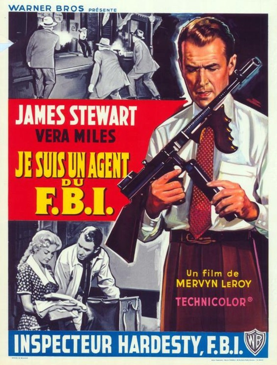 The FBI Story 1959 French poster
