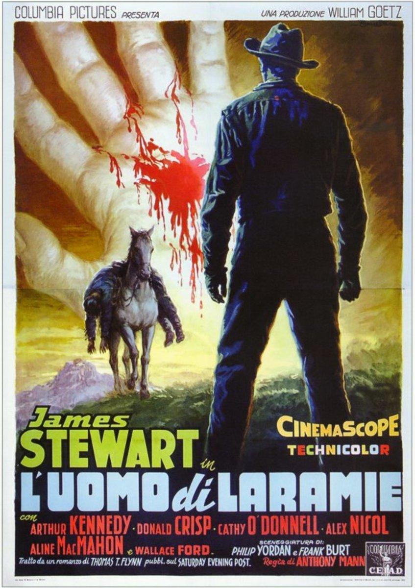 The Man from Laramie (1955) Italian poster