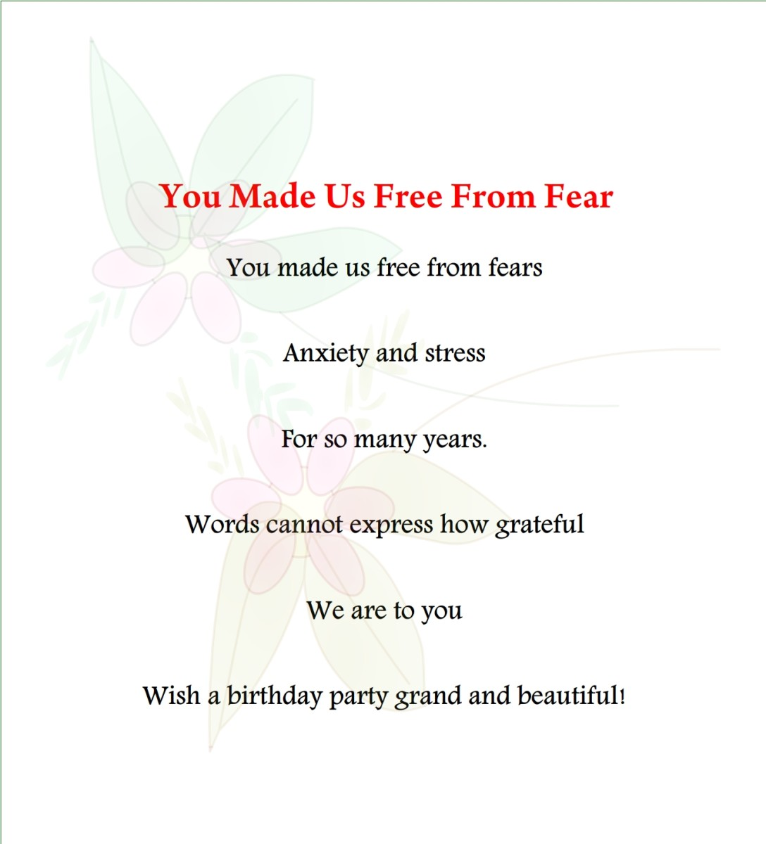 Mom birthday poem