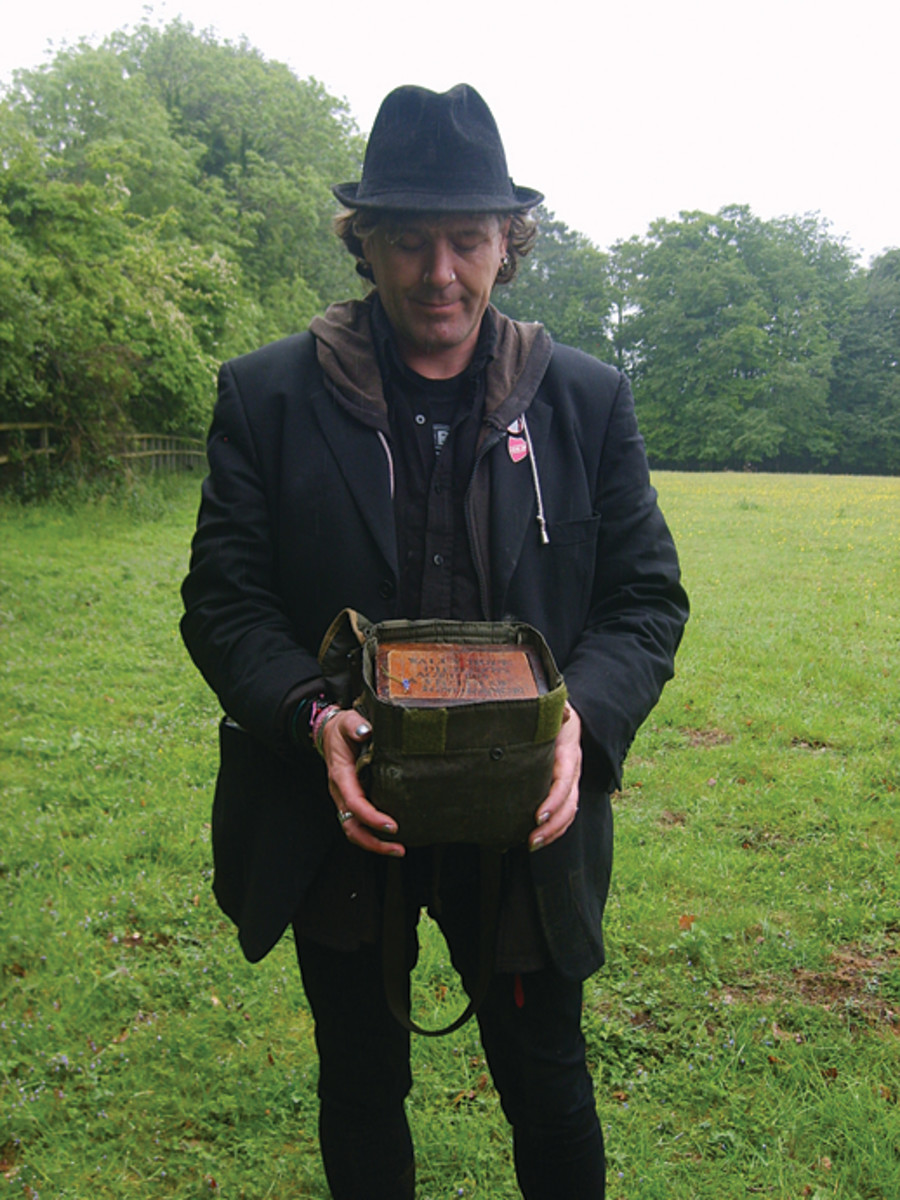 Dean Phillips with Wally's box