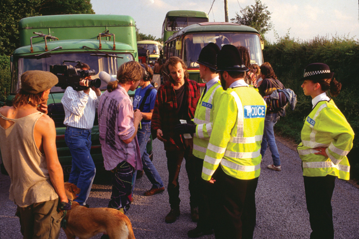 Police stand off 1991