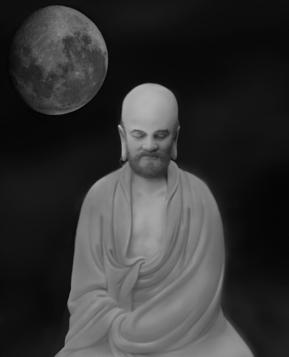 Zen Master Bodhidharma