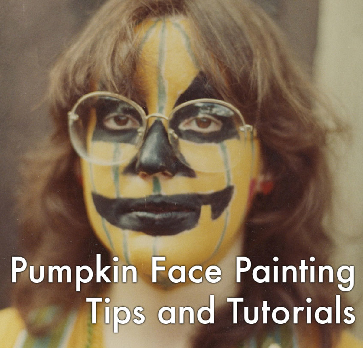 Pumpkin face painting tips and tutorials