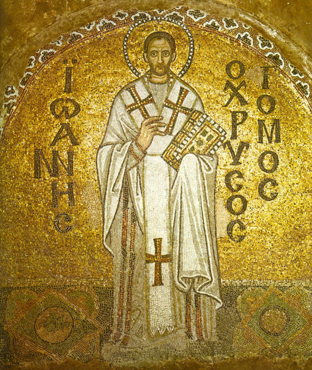 St. John Chrysostom, Hagia Sophia