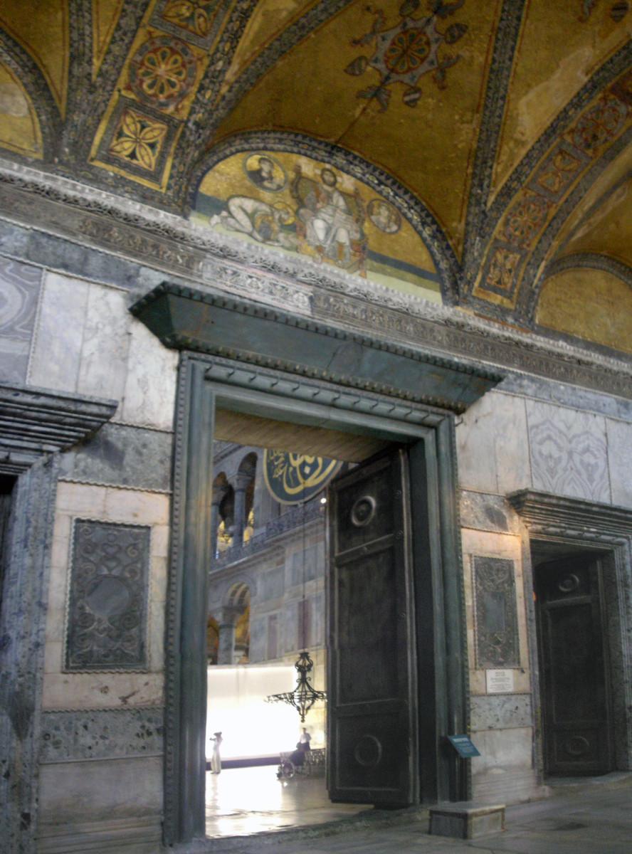 Imperial Gate, Hagia Sophia.