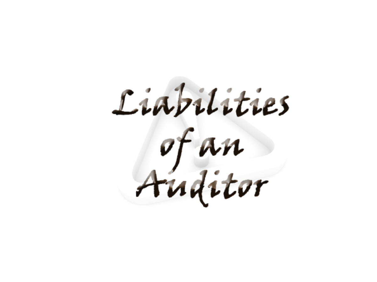 Liabilities of an Auditor