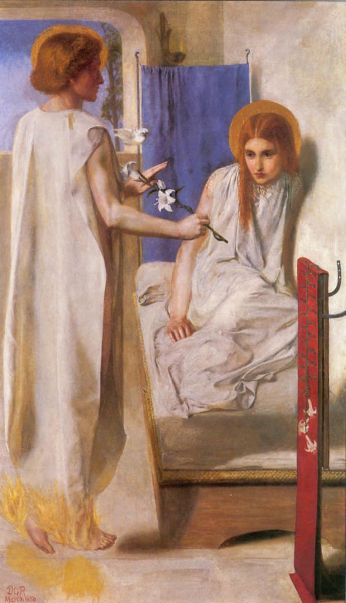 Ecce Ancilla Domini.  The Annuciation (1850)