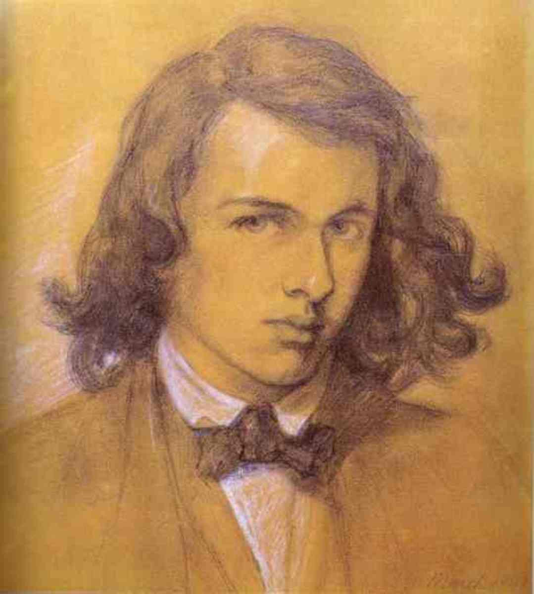 Self-portrait painted in 1847.