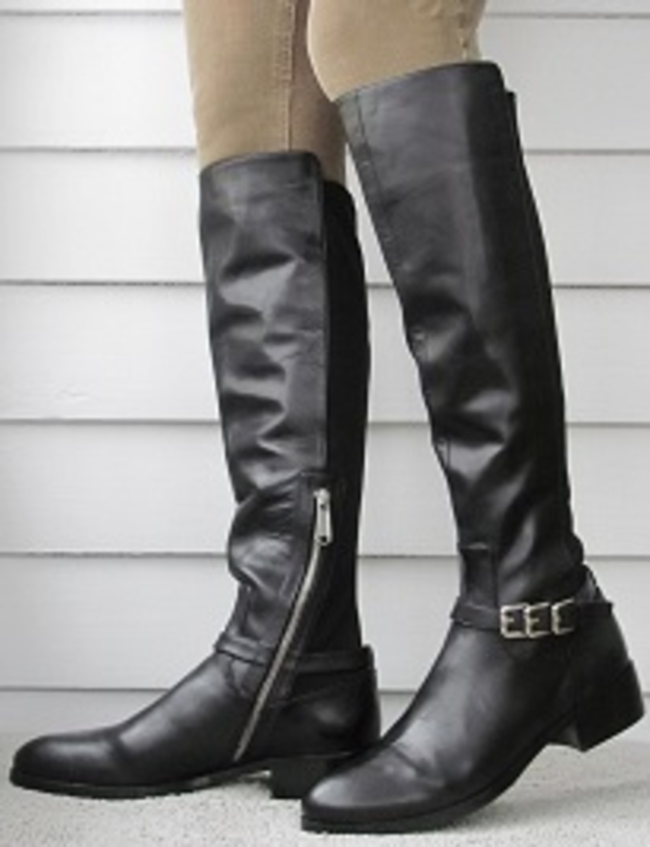 donald pliner narrow calf boots