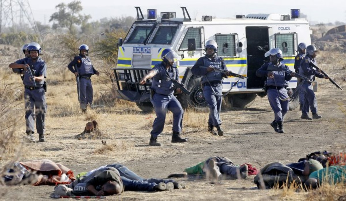 The massacre of 45 people, including 34 miners, at Marikana in the North West province is an inevitable outcome of a system of production and exploitation that has historically treated human life as cheap and disposable.