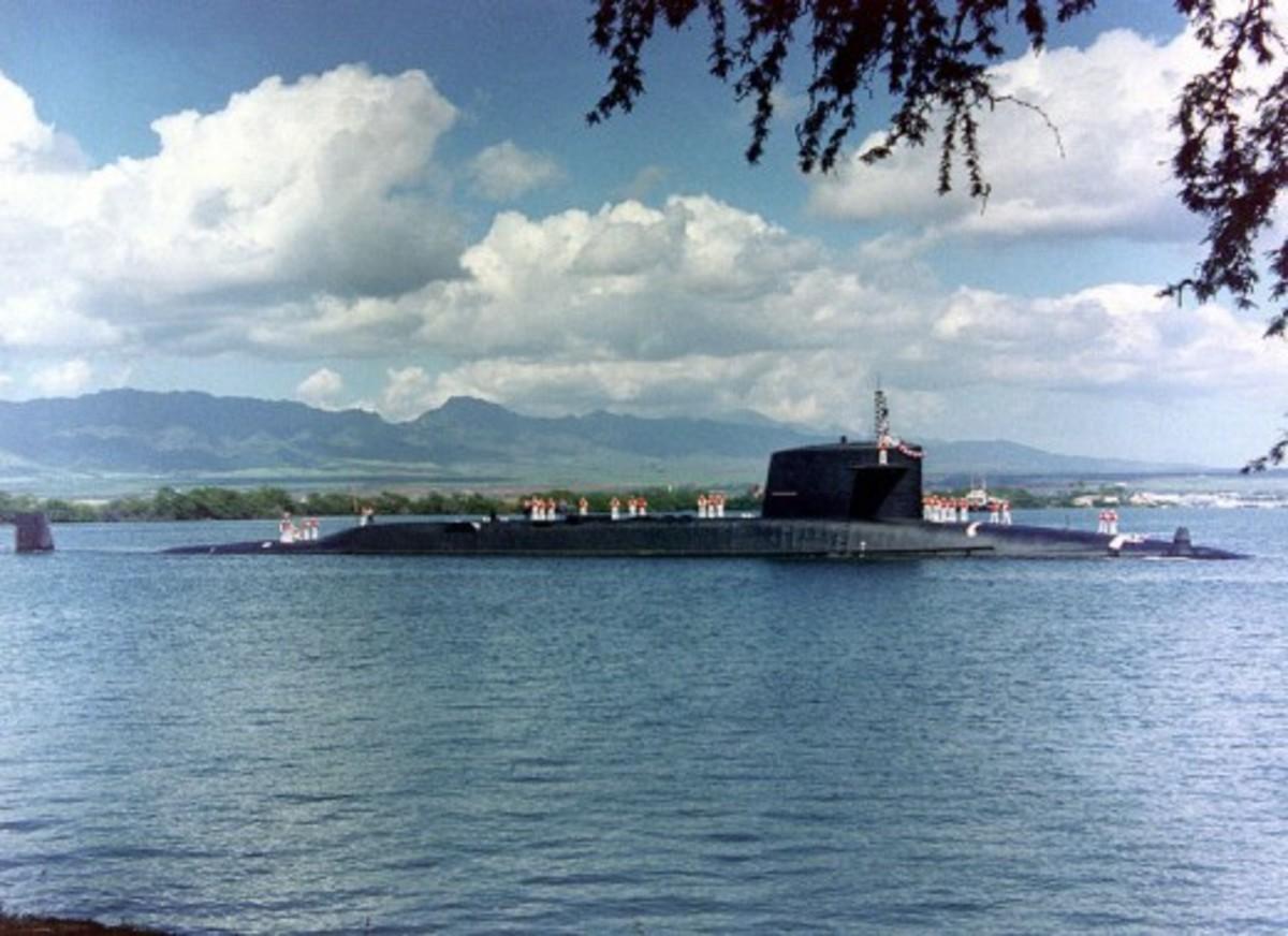 USS Sam Houston nuclear powered submarine