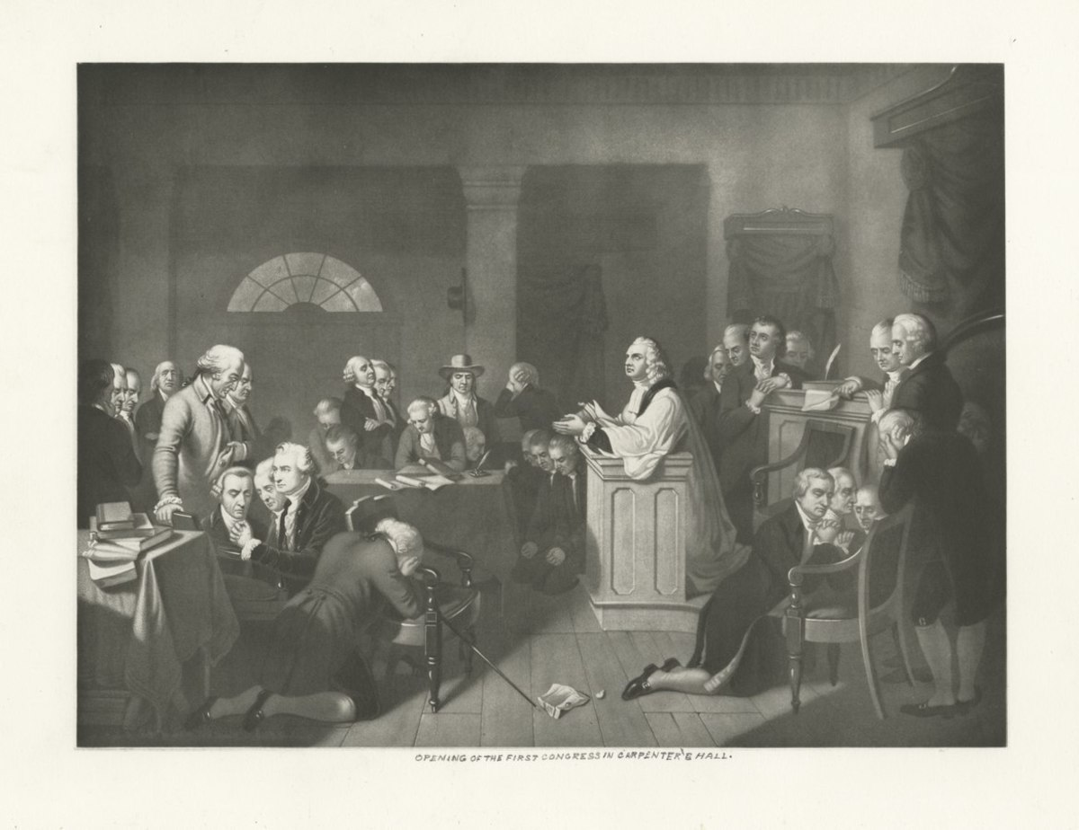 Continental Congress, 1774.