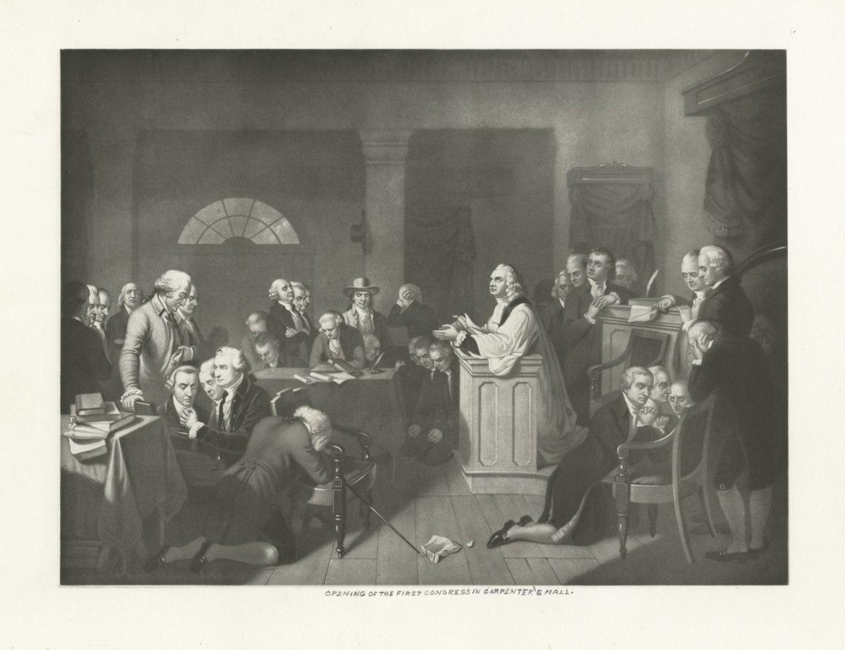 Continental Congress, 1774.