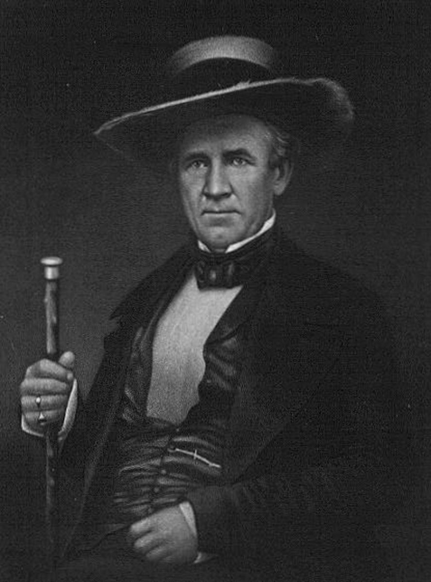 Portrait of Sam Houston