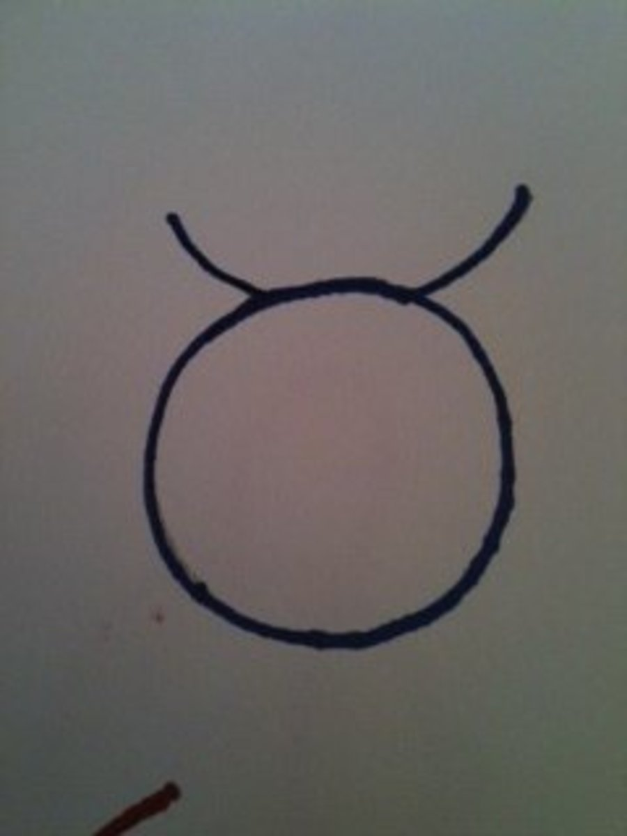 The symbol for Taurus